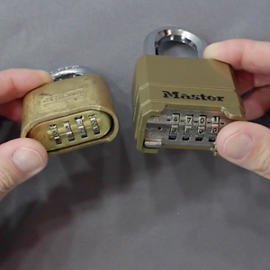 Master padlocks defeated during covert entry training